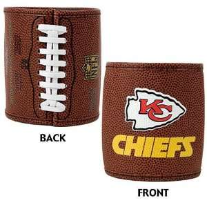Kansas City Chiefs NFL 2pc Football Can Holder Set