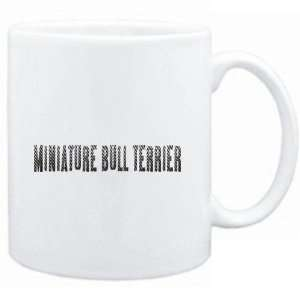 Mug White  Miniature Bull Terrier  Dogs