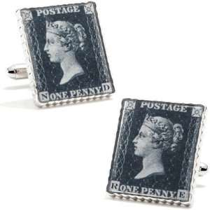 Penny Black 40 Replica Stamp Cufflinks