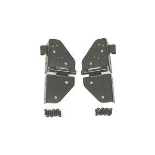 Rugged Ridge 11209.01 Black Windshield Hinge   Pair