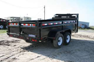 New 14 x 83 Gooseneck Hydraulic Dump Trailer w/7K Axles