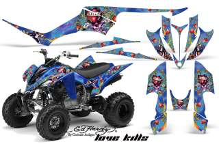 AMR RacingQuad kits are made from Thick Motocross quality vinyl