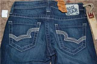 YOU ARE BIDDING ON A PAIR OF NWT BIG STAR CUFFED CROP CAPRI JEANS