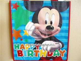 MlCKEY MOUSE HAPPY BIRTHDAY TOTE BAG NEW WITH TAG