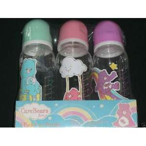 Care Bear Feeding Bottle Set of 3 Bottle (Styles May Vary)