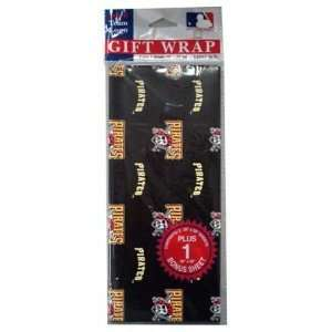 2 packages of MLB Gift Wrap   Pirates   Pittsburgh Pirates