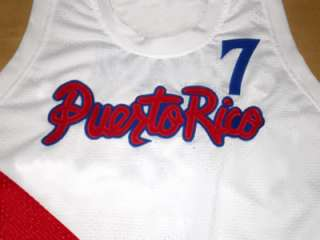 CARLOS ARROYO Team Puerto Rico JERSEY Whitre NEW   ANY SIZE