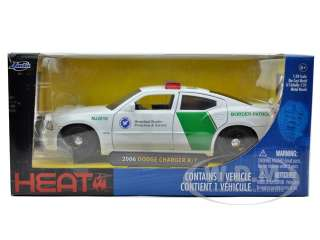 2006 DODGE CHARGER R/T BORDER PATROL 124 MODEL CAR