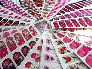 Nail Art Decal Sticker Water Slide Transfer Wholesale