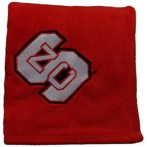 North Carolina State Wolfpack Embroidered Fleece Throw (50