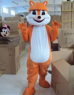 Squirrel Mascot Costume Outfit Suit Fancy Dress SKU 13817276910