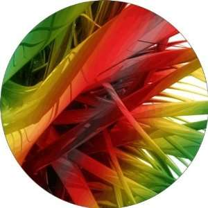Colored Feathers Art   Fridge Magnet   Fibreglass reinforced plastic