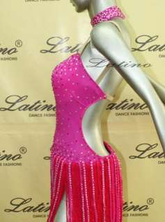 LATIN SALSA(BALLROOM) COMPETITION DRESS SIZE L (LT425)