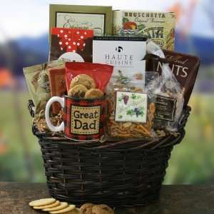 Father Knows Best Fathers Day Gift Basket  Grocery