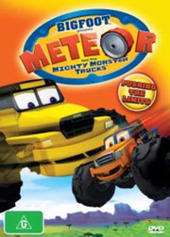 BIGFOOT PRESENTS   METEOR & THE MIGHTY MONSTER TRUCKS PUSHING THE
