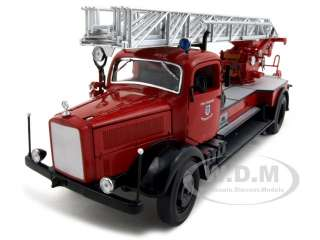 1944 MERCEDES L4500F FIRE TRUCK 124 DIECAST MODEL CAR