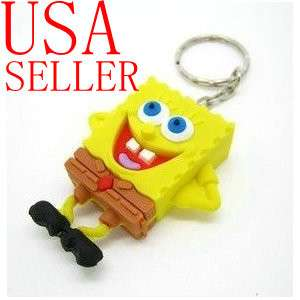 cute carton spongebob shape Style USB 2.0 Flash Memory Pen Stick Drive