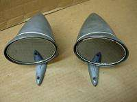 1960s FORD SHELBY MUSTANG COBRA ALUMINUM DOOR MIRRORS