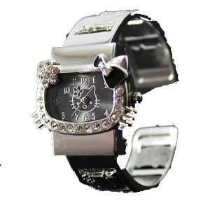 Stainless Steel Rhinestone & Crystal Watch in Pink Gift Box by Jersey