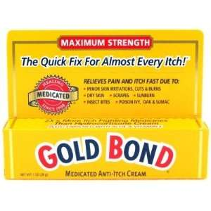 Gold Bond Anti Itch Cream Max Strength 1 oz. (3 Pack) with