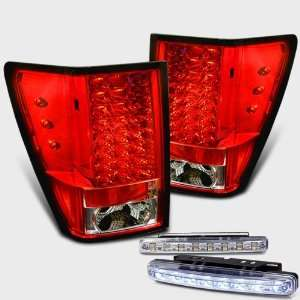 Eautolights 05 06 Jeep Grand Cherokee LED Tail Lights + Bumper Fog