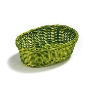 Tablecraft Ridal Collection Hand Woven 9.25 Oval Basket