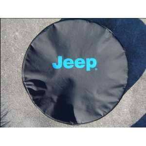 ® Brawny Series   Jeep® 32 Blue logo Tire Cover Automotive