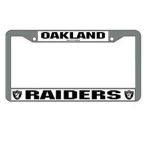 NFL National Football League Oakland Raiders Car License Plate Frame