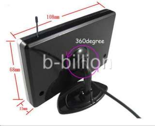 Wireless Color TFT LCD Monitor Rear View Night Vision Camera US