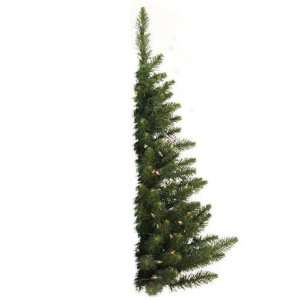 ft. Artificial Half Christmas Tree   Classic PVC Needles   Camdon Fir