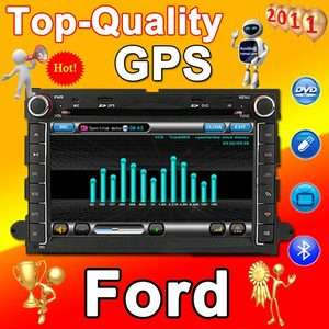 Ford Fusion GPS Navi player CAR DVD RADIO 2Din 2011Map
