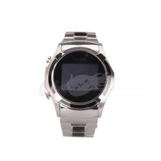 New S760 Stainless Steel Watch Cell Phone Dual Card Waterproof /4