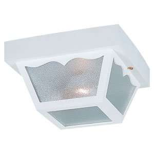 White Outdoor Ceiling Lighting 10.25 W Sea Gull Lighting