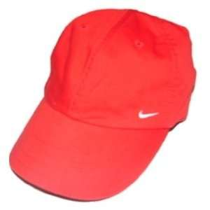 Nike Womens Hat Cap Hybrid 09 Running Red Adjustable