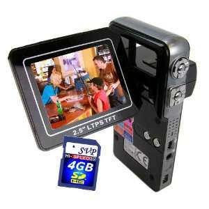 with 2.5 TFT LCD Monitor (Free 4GB SDHC Card)