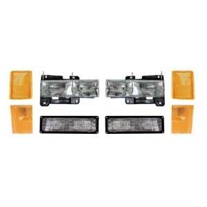 88 93 Chevy Pickup/Silverado Corner Light Headlight SET
