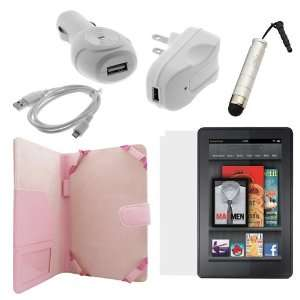 LCD Screen Protector + USB Car Charger +USB Travel Charger + Micro USB