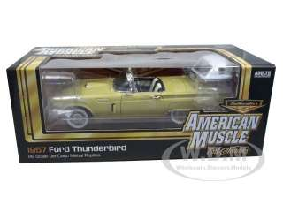 Brand new 118 scale diecast car model of 1957 Ford Thunderbird die