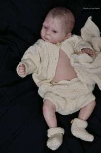 Reborn Vinyl Doll Kit Peach Baby TRISTAN Laure Lee Eagles Supplies