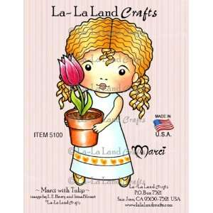 Crafts Cling Rubber Stamp, Marci with Tulip Arts, Crafts & Sewing
