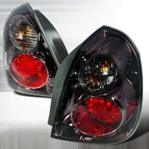 2002 2005 Nissan Altima Led Tail Lights Smoke Automotive