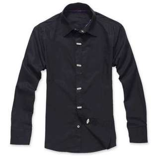 ST69 New Luxury Stylish Mens Casual Dress Slim Fit Shirts 3 Colours 4
