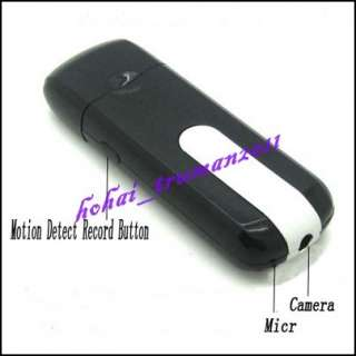 4G Mini HD U8 USB Disk Spy Hidden Camera DV DVR With Motion Detector