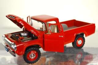 Diecast 118 Scale Model Pickup Trucks Ford 1955 & 1959