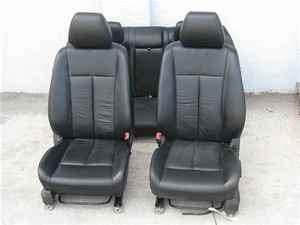 2008 Nissan Altima Black Leather Seats Set Interior OEM