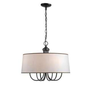ImportsBrisbane Collection 6 Light Hanging Euro Bronze Mini Pendant