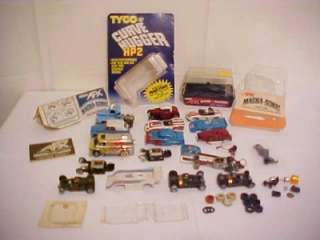 Vintage SLOT CAR Treasure Lot AFX TYCO Junk Yard Parts bodies chaisis