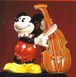 Disney Mickey Mouse Plays Chelo Music Salt & Pepper