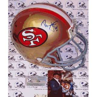 Autographed Ronnie Lott Helmet   Authentic Sports