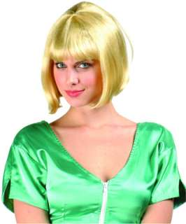 Barbara Ann Bob Wig   Blonde is a classic bob haircut with bangs